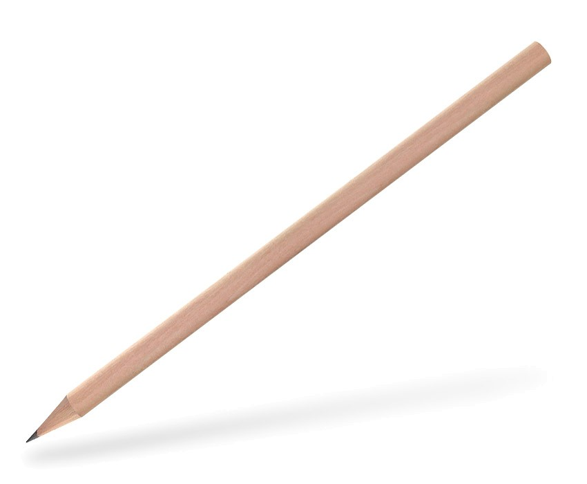 Bleistift Natur Rund